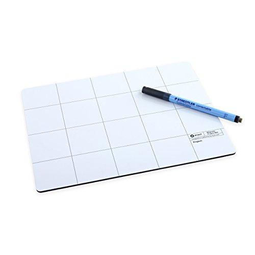 iFixit Magnetic Project Mat - Magnetische Unterlage inklusive Stift zum sortieren von bits ersatzteile zum iphone smartphone reparieren - Schraube Iphone 4 Mat