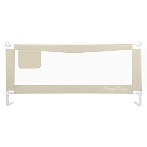 Barrières de lit Extra-Longue pour bébé et Enfants en Bas âge, barrière de sécurité pour lit Double pour Enfants (Taille : Length 180cm)