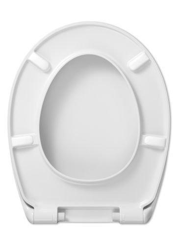Cedo Design WC Sitz Aspen mit Absenkautomatik Softclose Classic®, abnehmbar mit Takeoff Original® Abnahmefunktion; aus Duroplast für ovale Keramiken mit Befestigung von unten