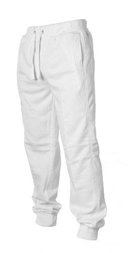 Urban Classics -  Pantaloni  - Uomo Bianco