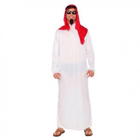 fyasa 706317-t04árabe disfraz, tamaño grande), color blanco