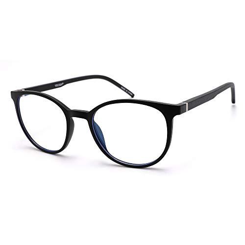 VECIEN Blue Light Blocking-Computerbrille, langlebiger mattierter Rahmen, Anti-Augen Anstrengung/Kopfschmerzen Erhalten Sie geistige Befriedigung für besseren Schlaf