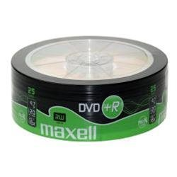 Maxell DVD+R Shrinkwrap 25PK