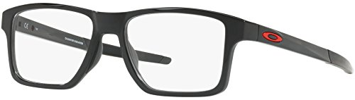 Brillen Oakley CHAMFER SQUARED OX 8143 POLISHED BLACK Herrenbrillen
