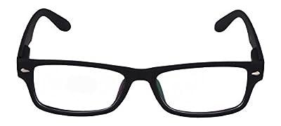 FADDISH UV Protected Rectangular Unisex Sunglasses - (BO58UNPMTBCND|50|Transparent Color)