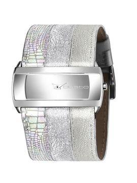 Custo Watches CU013601 - Reloj de Señora cuarzo piel Tricolor