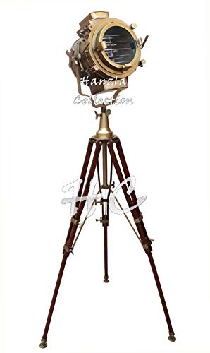 Historicalmuseum Hollywood Antik Heavy Classic Spot Light Search Light Stativ Stehlampe