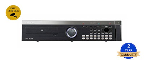SS286 - SAMSUNG SVR-1650 16-Kanal-PREMIUM Digital Video Recorder DVR 250GB MPEG-4 CCTV Kanal Mpeg4 Video