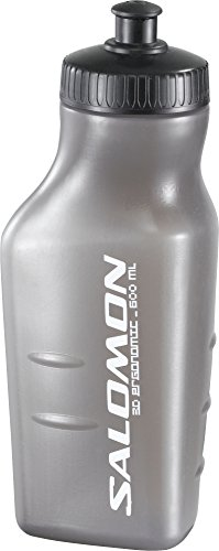 Salomon 3D Bottle Borraccia d'Acqua, Grigio, 600 ml, Confezione da 6