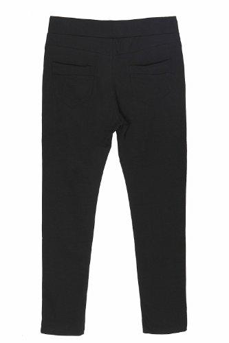 Leggings groß (40 bis 48) Schwarz - Schwarz