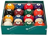 ARAMITH PREMIER QUALITY 2' SPOTS AND STRIPES POOL BALLS