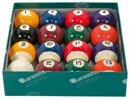 ARAMITH PREMIER QUALITY 2″ SPOTS AND STRIPES POOL BALLS SPORTS BEST PRICE REVIEW UK