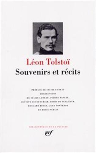 Souvenirs et recits por Lev Tolstoy