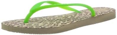 Havaianas Womens' Fresh Pop Up Flip Flops Neon Green 5539 5 UK (39/40 EU)