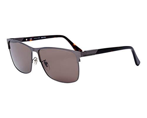 Preisvergleich Produktbild Police Sonnenbrillen Westwing 5 (SPL-774 627P) matt ruthenium - dunkel havana - grau polarisierte