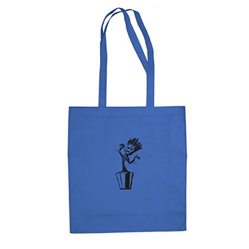 Dancing little Guardian - Stofftasche / Beutel Blau