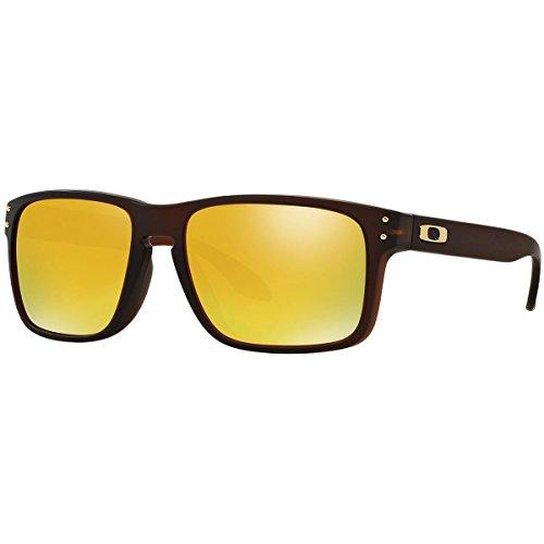 Oakley Herren 0Oo Holbrook (A) 924405 56 Sonnenbrille, Braun (Matte Rootbeer)