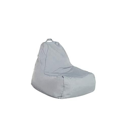 Beliani Sitzsack grau Siesta