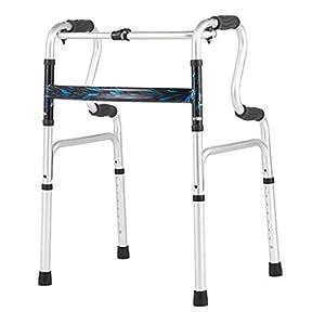 SUN HUIJIE Haushalt Walker-Patient verdicken Aluminiumlegierung Rehabilitations-Kleinkind Ältere Krücken