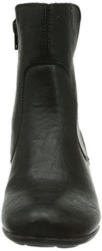 Rieker Z5371-01, Boots femme Noir (Schwarz/Schwarz/01)
