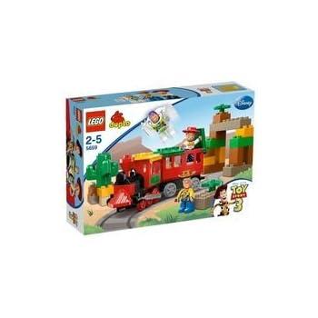 lego 5659 jeux de construction lego duplo toy story la poursuite en train. Black Bedroom Furniture Sets. Home Design Ideas
