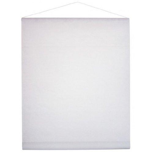 Einfarbiges Deko-Vlies 12m weiß