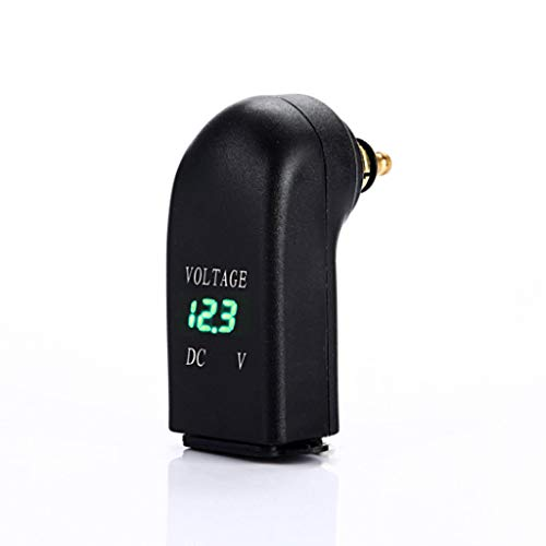 JENOR Wasserdichte 12 V Dual USB Ladegerät Netzteil LED Voltmeter DIN Steckdose Für BMW Triumph Hella Motorrad