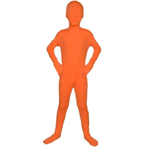 Body Spandex Lycra Anzug, Jungen, Orange (60 Fancy Dress Outfits)