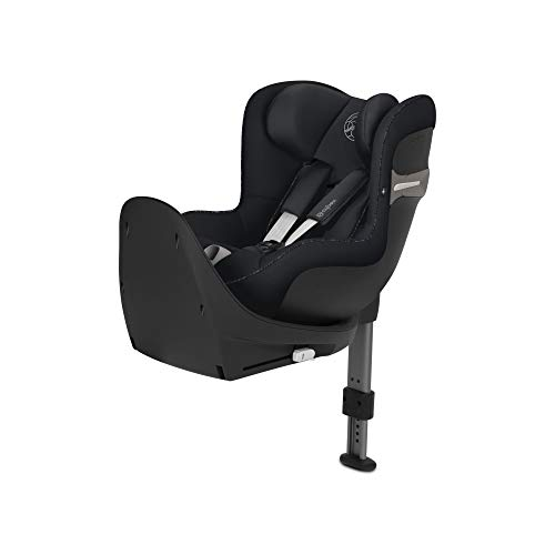 CYBEX Gold Sirona S i-Size Car Seat with 360 Swivel Mechanism and ISOFIX From Birth to approx 4 Years Up to Max 105 cm Height Urban Black