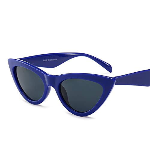 YUHANGH Retro Cat Eye Sonnenbrillen Für Frauen Kleine Designer Schatten Dreieck Brillen Vintage Cat Eye Sonnenbrille Weibliche Uv400