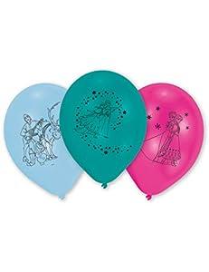 Frozen 10 globos de látex (Amscan 999366)