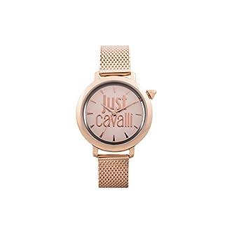 Just Cavalli Reloj Analógico para Mujer de Cuarzo con Correa en Acero Inoxidable JC1L007M0075