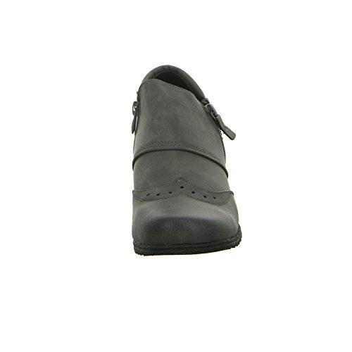 Alyssa WD9508141 Damen Slipper Halbschuh eleganter Boden Grau (Grau)