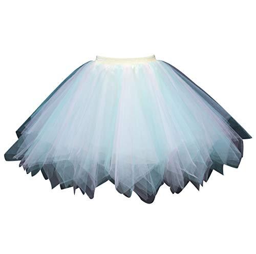 Prinzessin Braut Kostüm Für Erwachsene - Tüllrock Damen Tüll Röcke Tütü Tutu