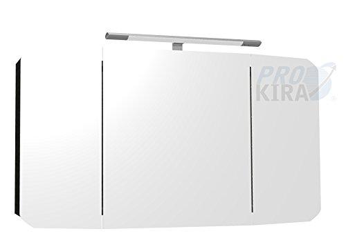Pelipal Cassca Spiegelschrank inkl. Beleuchtung / CS-SPS 05 / Comfort N / 120x67x17cm / A+