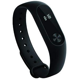 Xiaomi Mi Band 2 - Pulsera de actividad con Heart Rate en la muñeca [VERSIÓN ESPAÑOLA OFICIAL CON GARANTIA], pantalla OLED táctil, IP67 al agua, Bluetooth 4.0, acelerómetro.