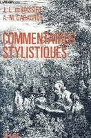 COMMENTAIRES STYLISTIQUES