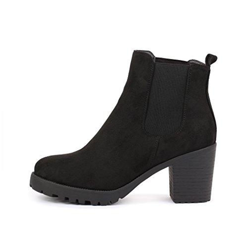 best-de-chelsea-boots-mujer-plateau-botines-botas-trend-color-negro-talla-38-eu