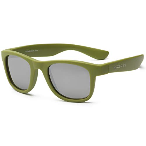 Koolsun WAOB003 Wave - Kinder Sonnenbrille - 3+ (3-10 Jahre), army grün