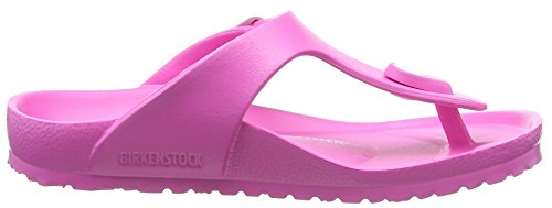 Birkenstock Gizeh Kids EVA, Tongs fille Rose (Neon Pink)