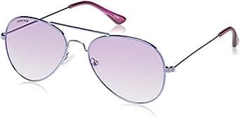 Fastrack Springers Aviator Sunglasses (Purple) (M139PR3F)
