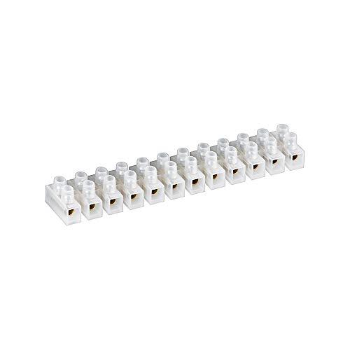 Na Licht-kit (Fixpoint 77008 Lüsterklemme, 10 A, 10 mm², Transparent)