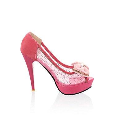 RTRY Scarpe Donna Stiletto Heel Tacchi/Open Toe Sandali Abito Nero/Rosso/Beige US9.5-10 / EU41 / UK7.5-8 / CN42