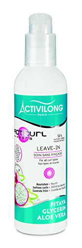 Activilong Acticurl Hydra Leave-In Soin sans Rinçage Pitaya Glycerin Aloe Vera 240 ml