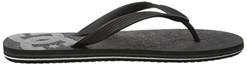 DC Shoes Herren Spray Zehentrenner Mehrfarbig (Black/Grey)