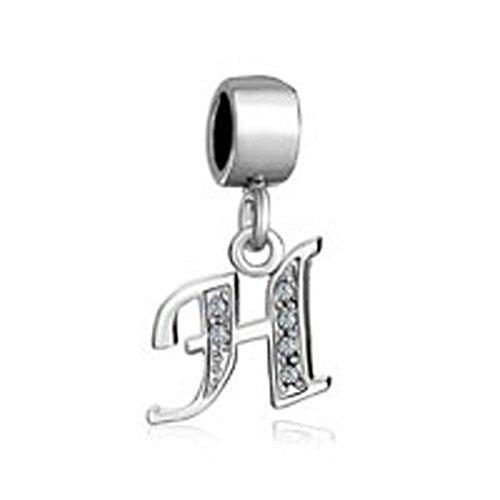 Preisvergleich Produktbild Uniqueen Fit Pandora Charms  -    Kupfer     Cristal