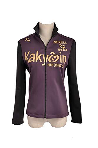 Prince of Stride Kakyoin High School Touya natsunagi Yagami Tomoe Ida Amatsu Sportswear Jacke Schule Uniform Cosplay Kostüm (Custom Made Mädchen Kostüm)