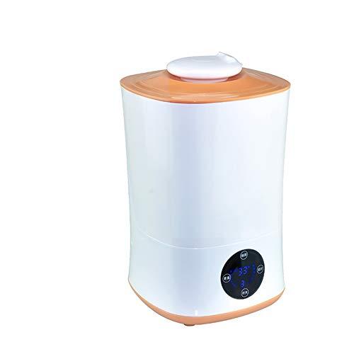 Humidificateur Grande Capacité Grande Quantité de brouillard à ultrasons Huile Essentielle Diffuseur Spray froid chauffage Aromathérapie machine Purificateur d'air Orange