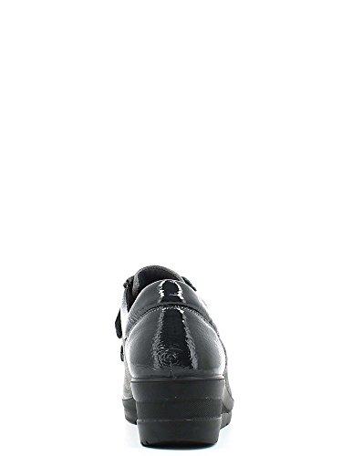Enval 4981 Scarpa velcro Donna Antracite