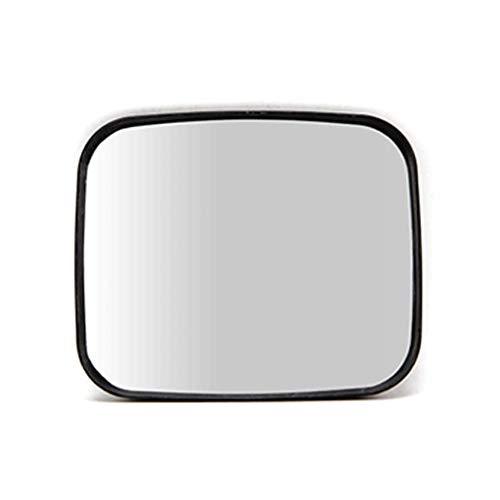 Geng Blinder Winkel Spiegel Rechteckiger Rahmen Verkehrsspiegel, Innensupermarkt Schwarz Sicherheits-Acryl-Verkehrsspiegel 20x24cm -